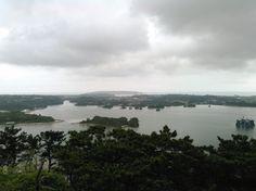 嵐山展望台からの景色