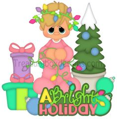 A Bright Holiday - Treasure Box Designs Patterns & Cutting Files (SVG,WPC,GSD,DXF,AI,JPEG)
