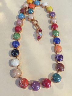 Beautiful cabochon necklace