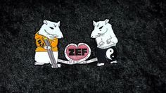 Zefside Rats Rule 23 hat pin Die Antwoord by MindOnFireDesigns
