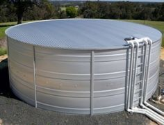 Why Are Round Water Tanks Better than Box-shaped Water Tanks? Water Storage Tanks, Water Tank, Building Materials, Outdoor Furniture, Outdoor Decor, Keep It Cleaner, Business, Box, Dunk Tank