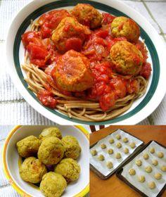 Almôndegas assadas de lentilhas vermelhas | Receita