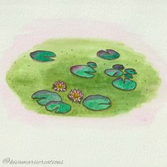 there are beautiful lilies on the pond at my house right now :) now they can be enjoyed all year round! #watercolour #inkandwatercolour #pigmamicron #waterlily #lilypad #makemindfulart #novascotiaartist #queerartist #canadianartist #watercoloursketch #practicenotperfection