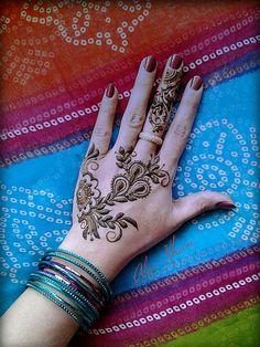 simple mehndi by jewell Beautiful Henna Designs, Best Mehndi Designs, Mehndi Designs For Hands, Simple Mehndi Designs, Henna Tattoo Designs, Henna Tattoos, Tatoos, Henna Mehndi, Bridal Mehndi