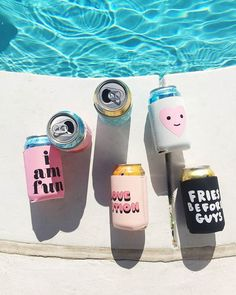 we're bringing retro back with our too cold to hold drink sleeves. don't let your gang get caught without these cuties! bottoms up!