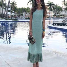 Tropical Vibes 🌴 @maarttaan wearing Zara Dress (5584/008) #zara #zaradaily #green #dress #dresses #weddingstyle #wedding #summerdresses #fringe #fringedress #look #lookoftheday #lookbook #fashionbloggers #streetstyle #streetwear #fashioninspiration #fashiongoals #love #tropical #vacation #vacationdress