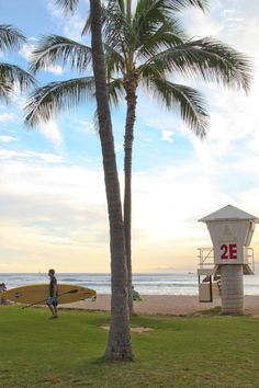 Waikiki, this is the lifeguard tower my husband and I shared our 1st kiss!