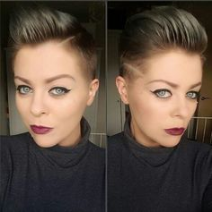 Trendy Shaved Pixie Haircut - Short Hairstyles for Fine Hair 2016