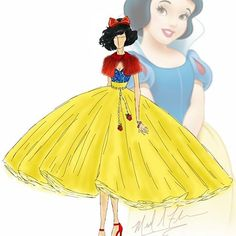 Snow White by michael_anthony_designs