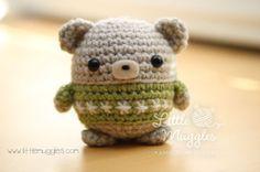 Amigurumi Baby Bear - FREE Crochet Pattern / Tutorial