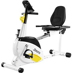 Smart Indoor Recumbent Exercise Bike - JOROTO MH20 Cardio Fitness Cycling Machine Home Stationary Trainer with Pulse * Be sure to check out this awesome product. (This is an affiliate link) #ExerciseFitness