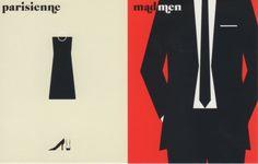 """""""l'allure"""" Parisienne Vs Mad Men Paris Vs New York by Vahram Muratyan"""
