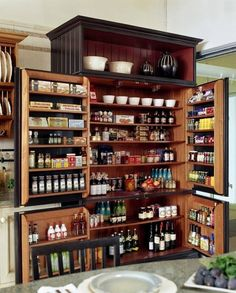 Here's a pantry idea that certainly maximizes the use of available space. If you're looking for kitchen storage inspiration, you'll find it on our site at http://theownerbuildernetwork.co/ideas-for-your-rooms/home-storage-gallery/kitchen-storage/ Thumbs up?