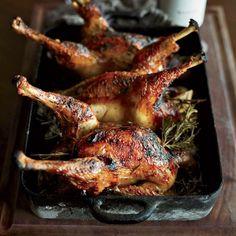 Honey-and-Lemon-Glazed Roast Chicken | Food & Wine