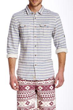Stripe Woven Shirt on HauteLook