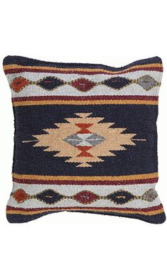 Aztec Throw Pillow Covers, 18 X 18, Hand Woven in Southwest and Native American Styles. 9 Best Price