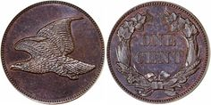 Flying Eagle No Date No Legend J-179 PCGS PR66 Brown sold for $37,600 at the ANA National Money Show in Orlando, Florida, March 9-10, 2017...This sale also included the Steve Brewer Flying Eagle Pattern Collection. The majority of these coins are extremely rare and the only thing that holds down their value is the limited collector base. One of the important highlights from this collection was the No Date, No Legend variety in PCGS PR64 which brought $51,700, the finest of three known...