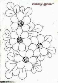 Ideas For Embroidery Bordado Puntos Hand Work Embroidery, Hand Embroidery Patterns, Applique Patterns, Mosaic Patterns, Beaded Embroidery, Flower Patterns, Embroidery Stitches, Machine Embroidery, Quilled Creations