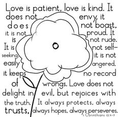 1 Corinthians 13 4-7 by willie