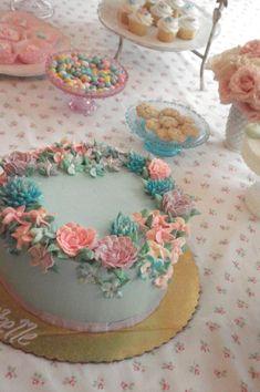 beautiful tea party foods