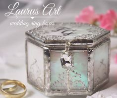 Ring bearer pillow alternative Fairytale wedding ring by LaurusArt