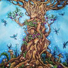 Kleurenvoorvolwassenen Derwent Inktense Mythomorphia Juliespassionforcoloring Coloringbook Waterbrush Adultcoloring