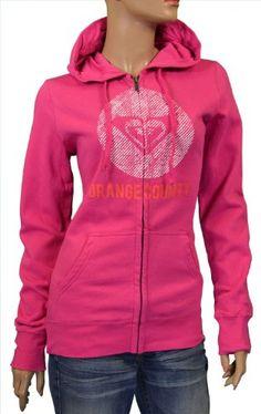Amazon.com: Roxy Women's Orange County Hoodie Sweatshirt- Pink-Small: Clothing