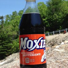 I just had a Moxie for the first time in Maine, fantastic! Loved it! Moxie Soda, New England States, Acquired Taste, Beverages, Drinks, Childhood Memories, Masters, Maine, This Or That Questions