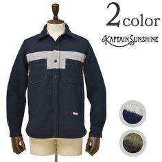KAPTAIN SUNSHINE(キャプテンサンシャイン)CPO シャツ ジャケット 通販・大阪・堀江での店舗販売