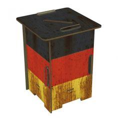"""Werkhaus Shop - Twinbox - 142 """"Flagge Deutschland"""""""