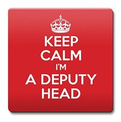 KEEP CALM I'm a Deputy Head Coaster Coffee Cup Gift Idea ...…