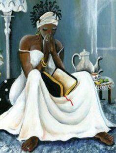 Prayer - Amazing painting.