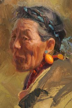 Tibet Woman Painting Demo, How to Paint Faces, Artist Study Scott Burdick ,Resources for Art Students / Art School Portfolio @ CAPI ::: Create Art Portfolio Ideas at milliande.com , How to Paint Faces, Human Figure