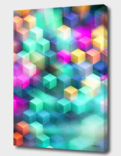 """""""Into The Unknown XXII / LE"""", Limited Edition Canvas Print by TMarchev - From $85.00 - Curioos"""