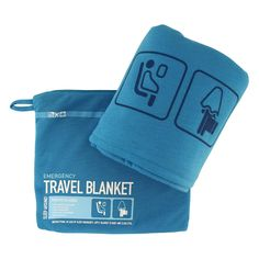 Make the trip a little cozier with this easy-carry travel blanket. Ultra-soft and lightweight, it comes packed in its own zippered jersey-knit pouch. Just unfurl for a little warmth on long flights, car trips or mornings at the office. Even when not in use, keep the blanket in its pouch and use it as pillow. You deserve to be comfortable, don't you?