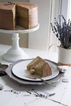 "... London Fog"" Earl Grey Tea Cake 