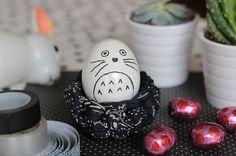décorer oeuf pâques totoro Posca, Totoro, Craft Ideas, Breakfast, Cake, Desserts, Crafts, Diy, Food