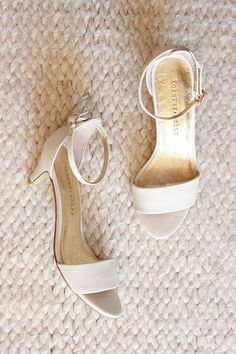 ON SALE NOW! WAS $169.95 NOW $129.95 Your wedding day will be one of the most beautiful and unforgettable moments in your life; which is why your shoes should perfectly highlight your unique look with style, grace, and comfort. Introducing the True Romance heel, a feminie lower-heeled