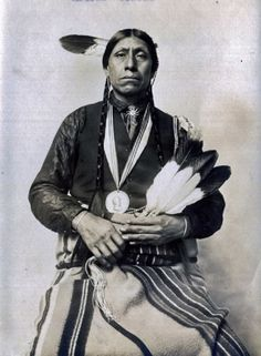 Philip Young (the husband of Lula Young) - Pawnee - circa 1920