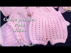 Crochet Baby Bloomers, Crochet Baby Dress Pattern, Crochet Baby Cardigan, Baby Girl Crochet, Crochet Baby Clothes, Crochet For Kids, Easy Crochet, Crochet Patterns, Baby Shorts