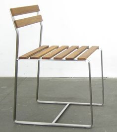 Outdoor Chair by Mark Albrecht.  Available at SUITE New York.