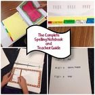 Orton-Gillingham Spelling Notebook Curriculum and Complete
