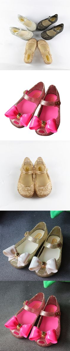 15-18cm Crystal Mini Melissa Shoes 2017 New Children'S Mesh Hole Shoes Girls Sandals Jelly Shoes Sandals Shoes For Girls