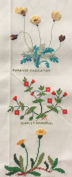This Pin was discovered by Emi Small Cross Stitch, Cross Stitch Flowers, Cross Stitch Designs, Cross Stitch Patterns, Cross Stitching, Cross Stitch Embroidery, Hand Embroidery, Stitch Crochet, Bargello