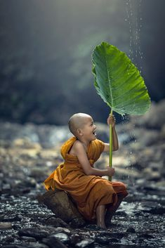 Novice Monk in Thailand by Sasin Tipchai on 500px