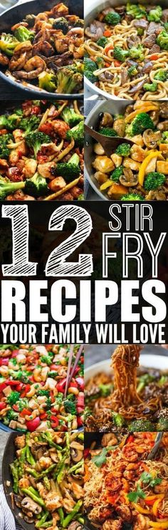If you are looking for a healthy and tasty meal to make, then you need to try these stir fry recipes for dinner!
