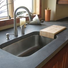 Beau Concrete Countertops   Love The Color, The Clean Lines, And The Sunken Sink.