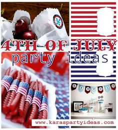 Thofjulypartyideasfreeprintablesinspirationbbqbannerfood  4th Of July First Birthday Party Ideas