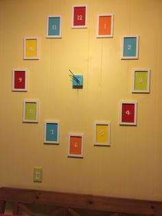 Fiesta kitchen wall clock
