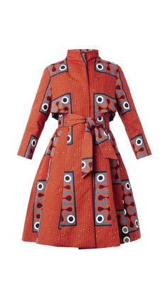This Ankara coat !